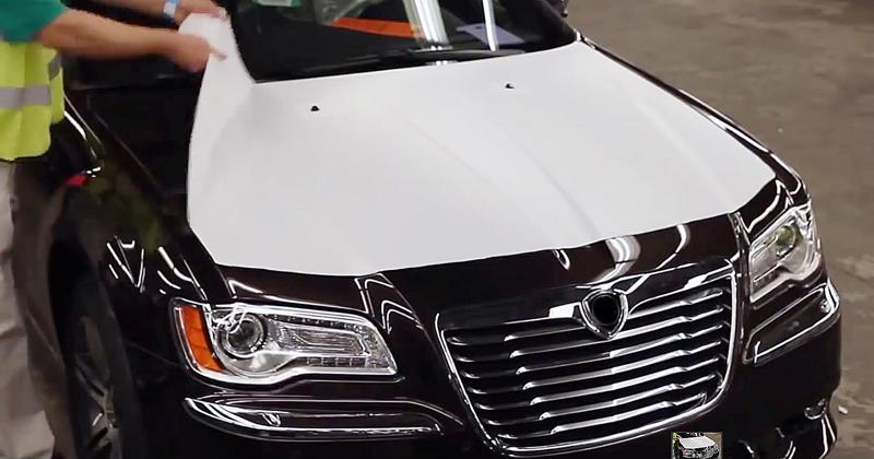 Protective tapes peel off cars easily with no mess.