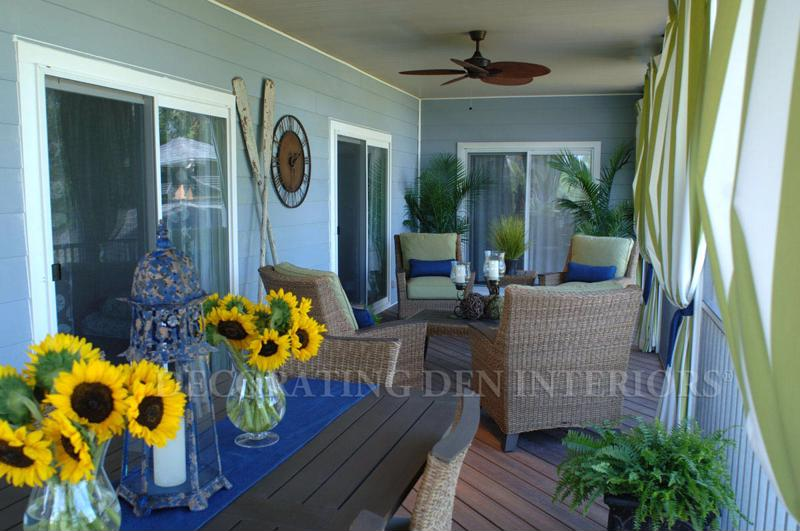 Lay our your color scheme with bright hues like yellow and blue.