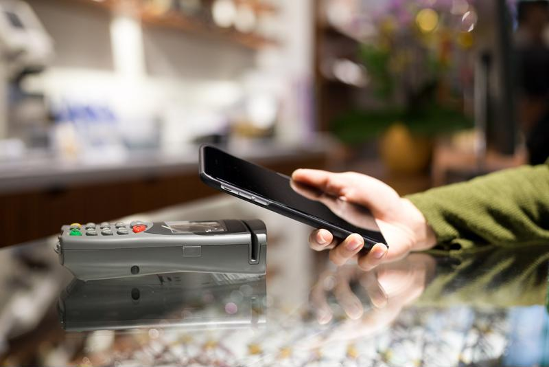 Mobile payments are quick and easy for customers.