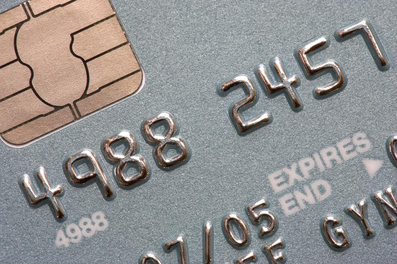 Chip cards are becoming more common all the time.