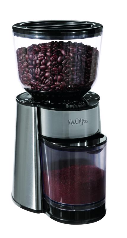 Mr. Coffee, automatic burr grinder, burr coffee grinder, coffee grinder