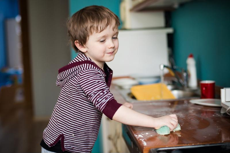You can adjust the chores and responsibilities given to children as they get older.