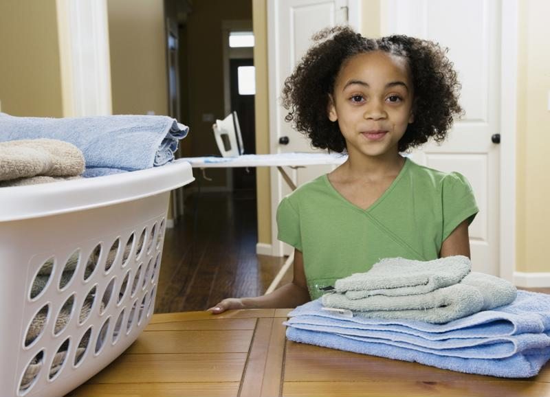 There are multiple benefits of getting kids involved in chores from a young age.