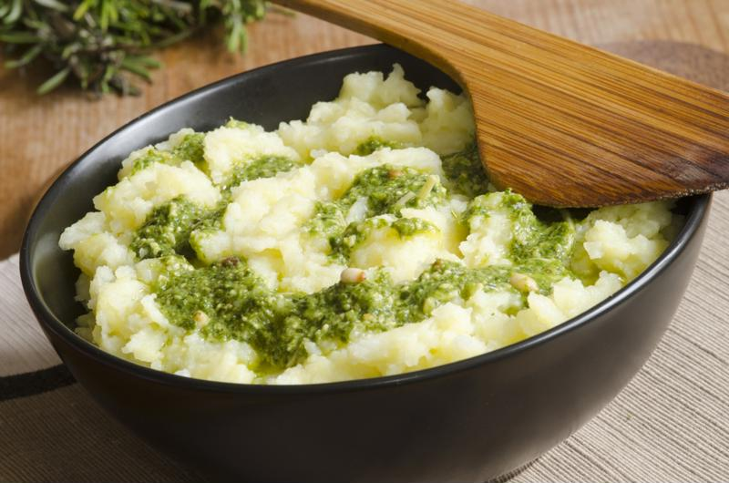 Pesto is great on pizza or pasta, but you can find many other uses.