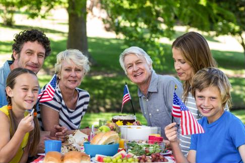 Spend Memorial Day with your grandkids and share your stories with them.