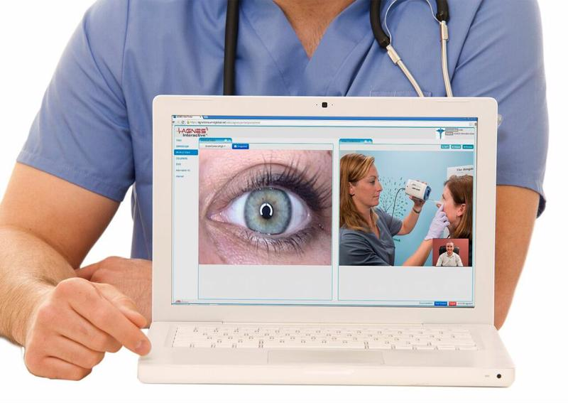 Telemedicine helps patients discuss their chronic conditions with a specialist from afar.