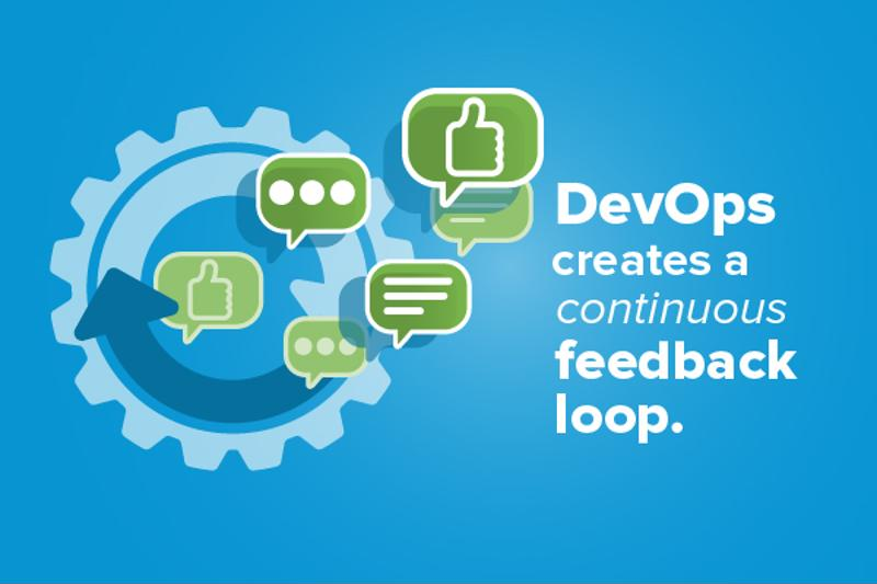 One of the biggest advantages of DevOps is the continuous feedback associated with streamlining development.