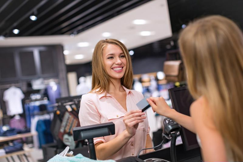 Many store credit cards offer users exclusive coupons and sales.