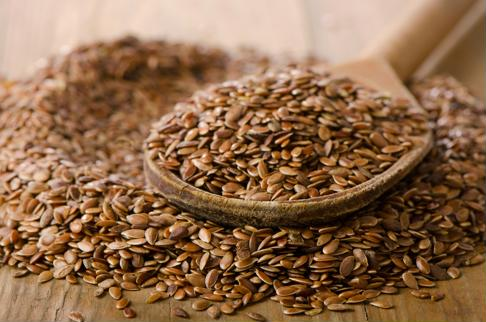 Add ground flaxseed to morning smoothies, oatmeal, cereal or yogurt.