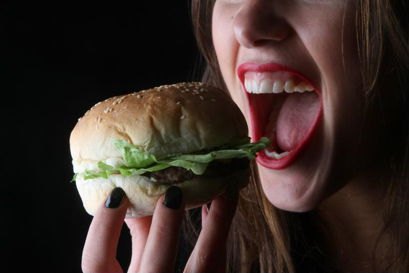 As much as you're craving that hamburger, the oral glucose tolerance test requires you to fast for 14 hours prior.