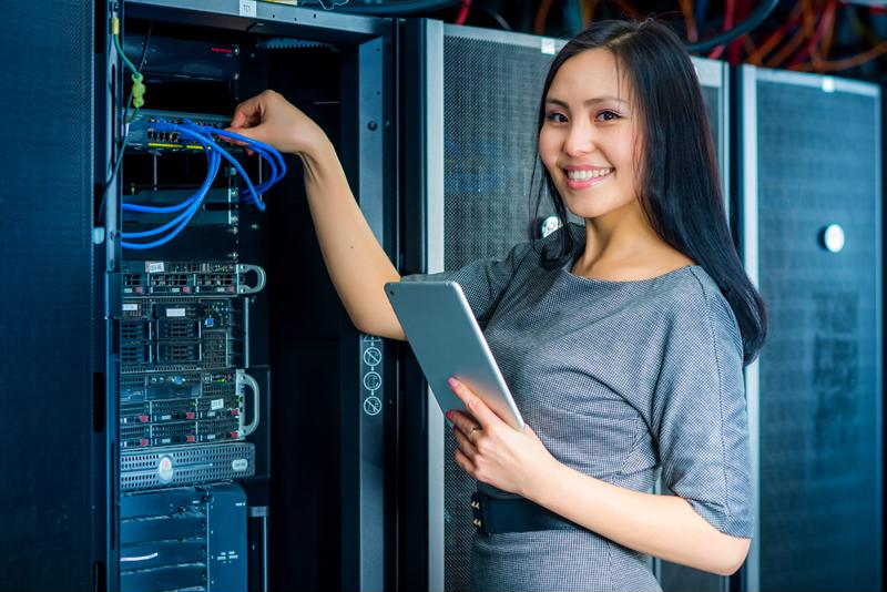Maintenance is less stressful when data center infrastructure is intuitively organized.