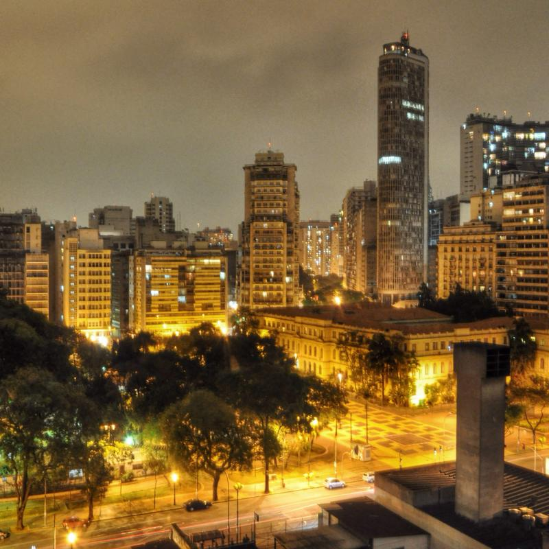Brazil ranked quite low for expat safety.