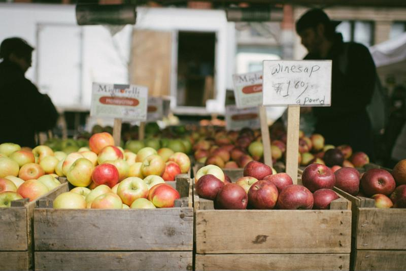 Farmers markets in the U.S. have grown exponentially in the last decade.