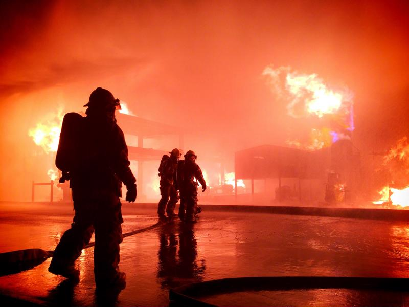 First responders need to have the capabilities to communicate and collaborate with each other, as well as other first responders, such as police officers or EMTs.