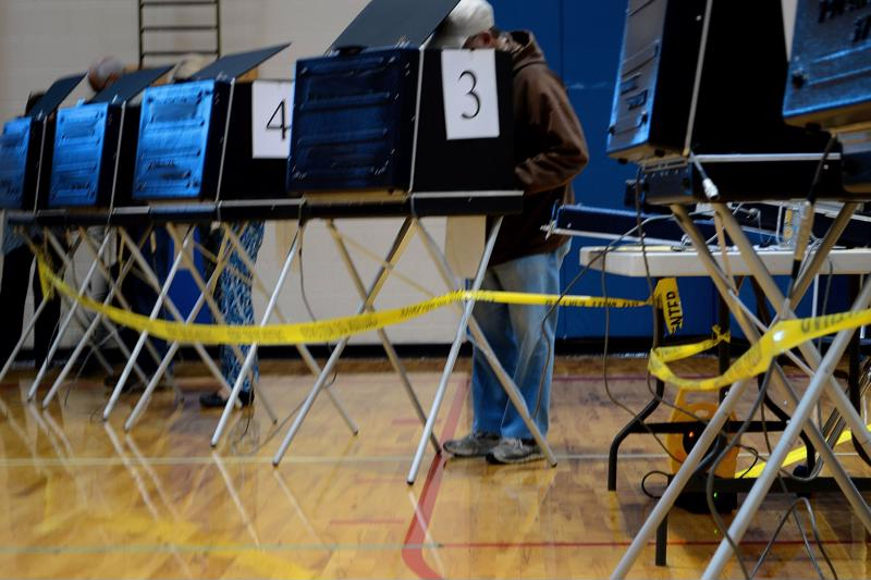 Electronic voting machines will need to be degaussed when retired.
