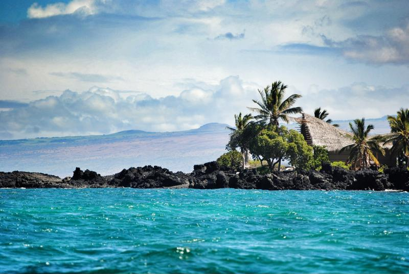Kona is home to turquoise water, black sand beaches and some of the world's best coffee.