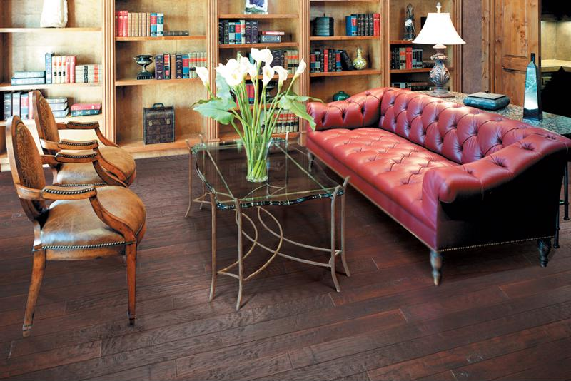 Hickory Forge floors are the epitome of perfection