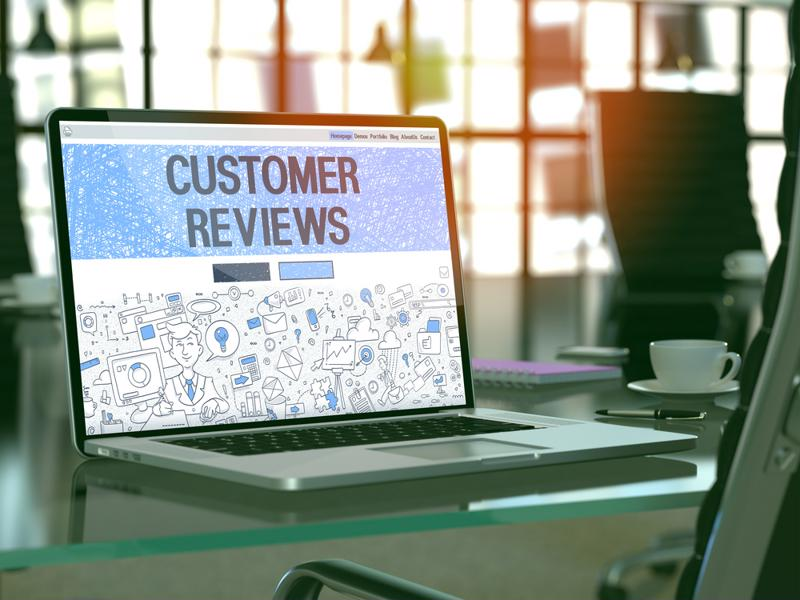 Customer reviews and social media