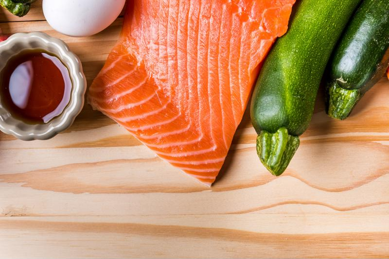 Maple syrup adds the perfect touch of sweetness to your salmon.