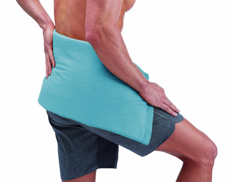 The Sunbeam® King Heating Pads can reach all areas of aches and pains.