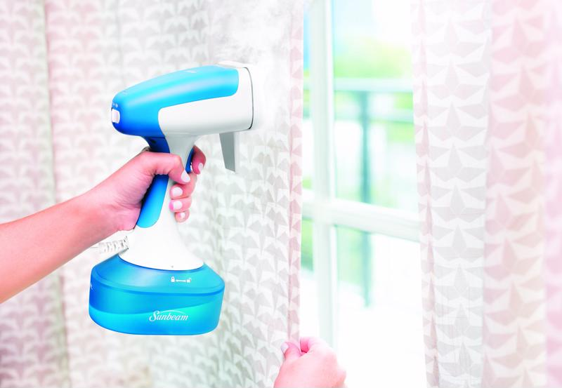 Save yourself time and money with this handheld steamer.