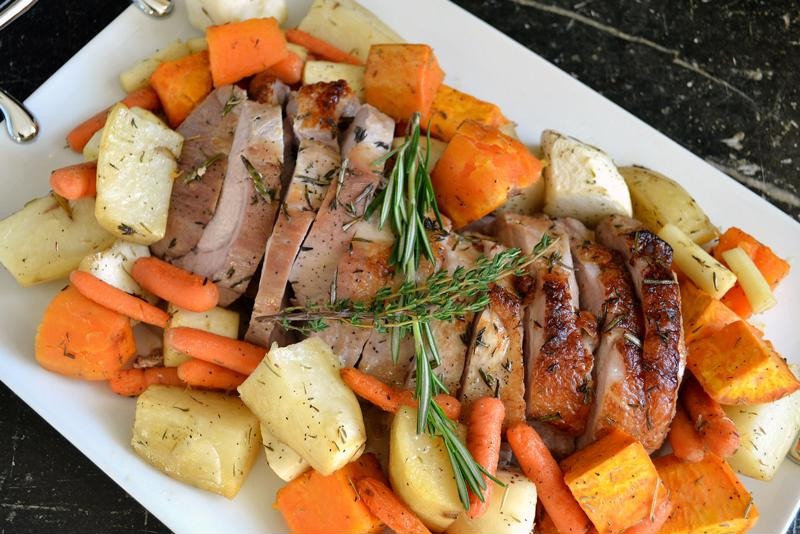 A pork loin may become your family's favorite Thanksgiving meal.
