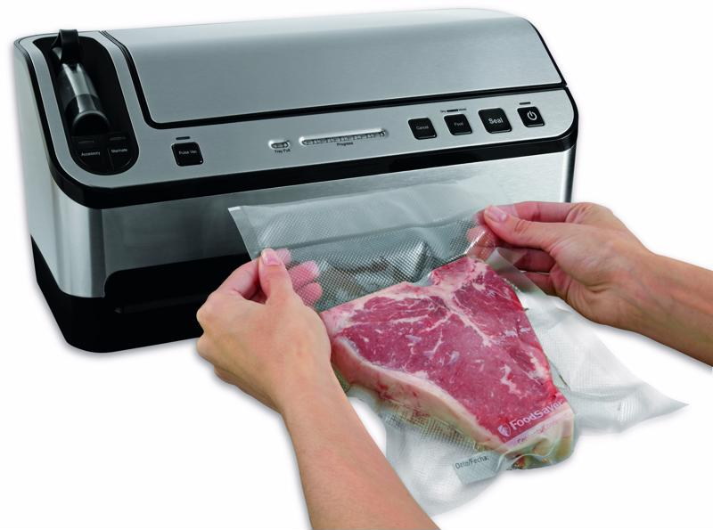 Vacuum sealing allows your frozen food to stay fresher longer.