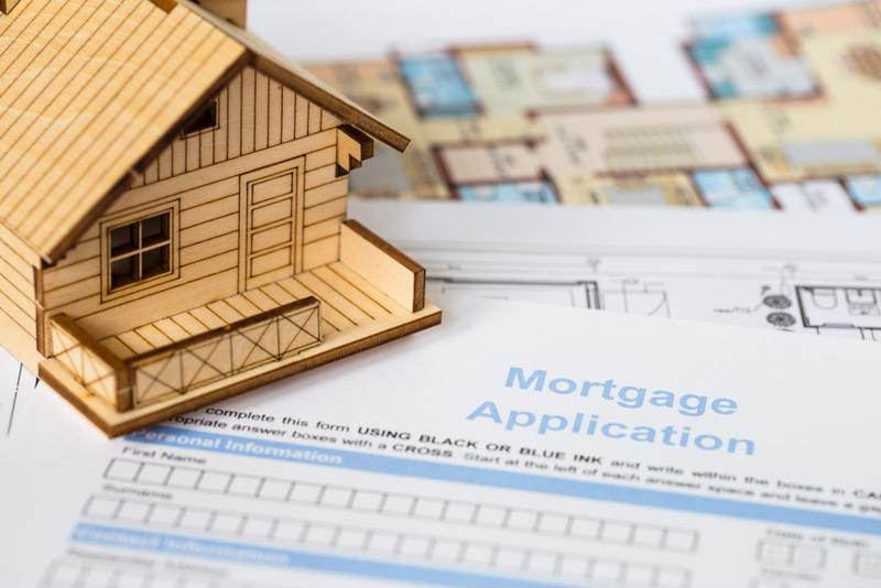 Mortgage applications are sliding as rates rise.
