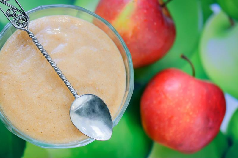 The combination of pears and apples is perfect in this recipe.