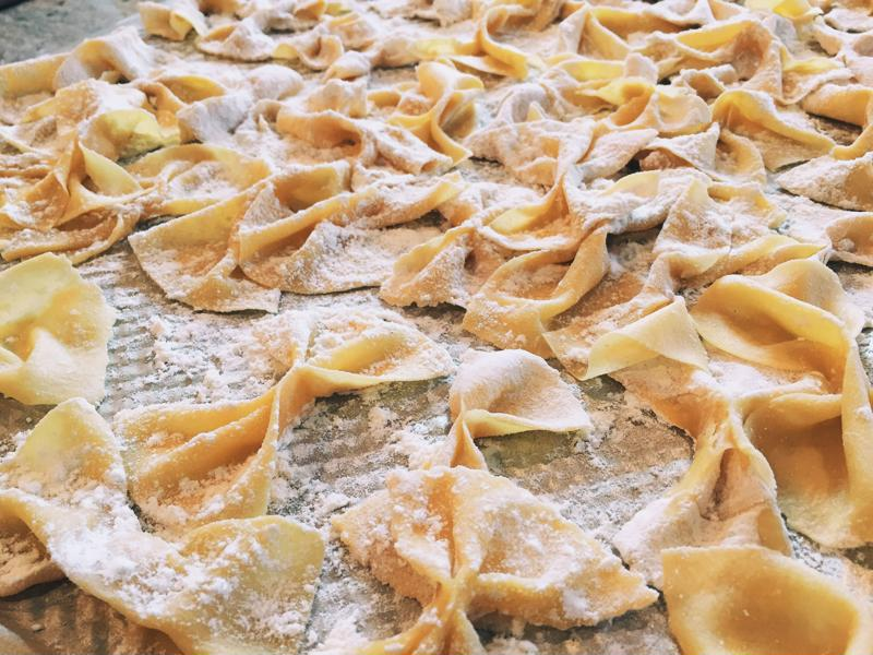 Use this recipe to make your own bowtie pasta.