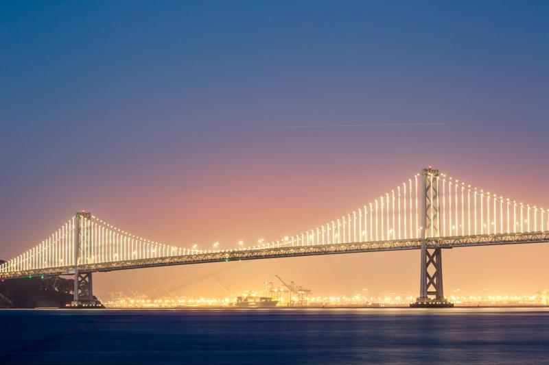 There are over 600,000 bridges in the U.S., and around 10 percent need significant repairs.