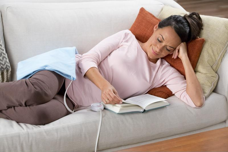 This heating pad is a great way to benefit from nature's original pain reliever.