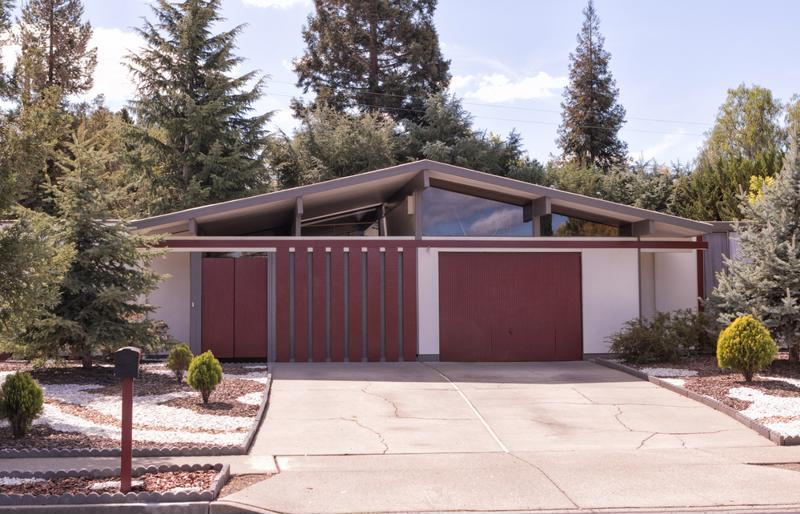 Eichler built mid-century homes.