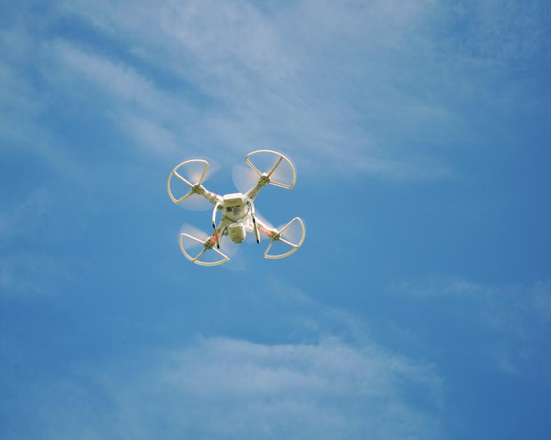 The Coast Guard is testing drone technology.