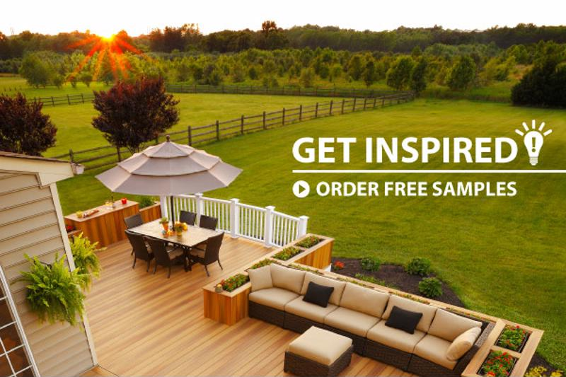 Need to match your deck to your hot tub? Check our free samples.