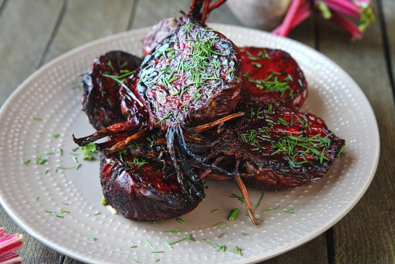 Simple and delicious, this roasted beet recipe is a great side dish.