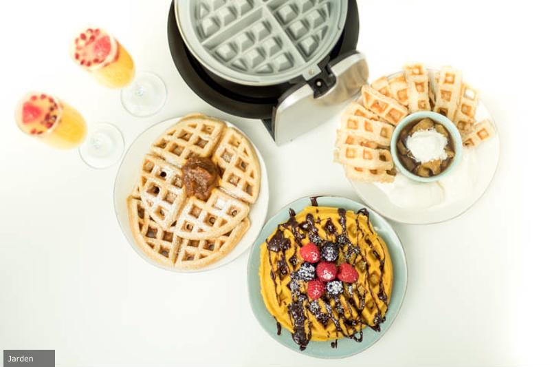 Get festive with your waffles this holiday season!