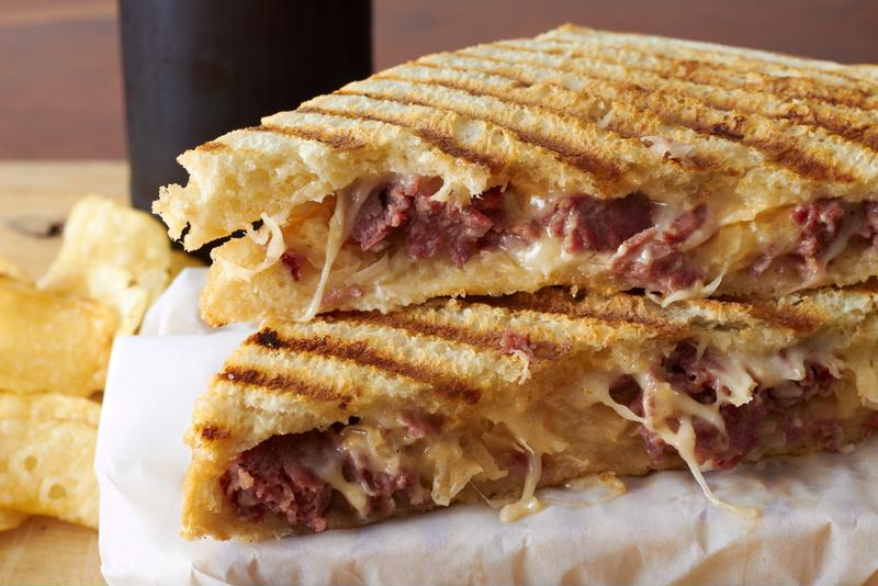 Cheesy and flavorful, these pulled pork grilled cheese sandwiches will be a big hit.