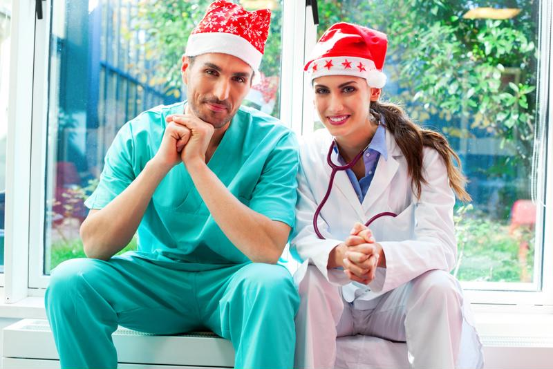 Nurses deserve a little rest and relaxation for the holidays.