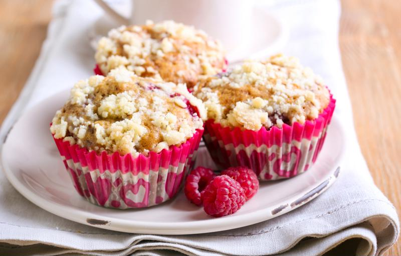 This streusel recipe makes for a great crisp and crumbly topping.