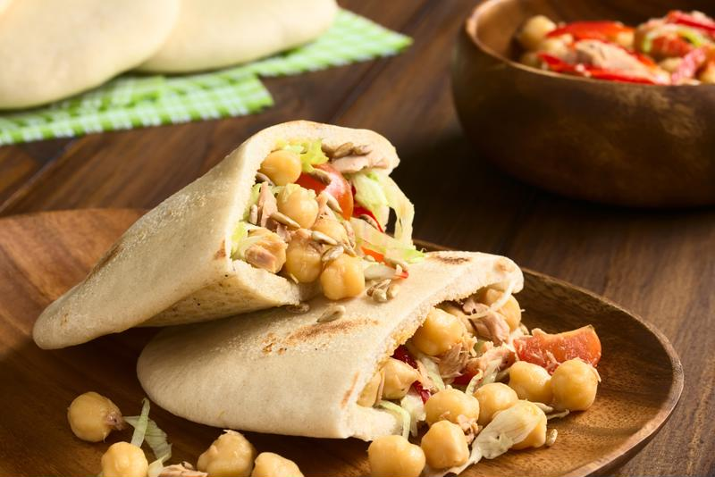 These pita pockets are a healthy and delicious dinner made easy thanks to the slow cooker.
