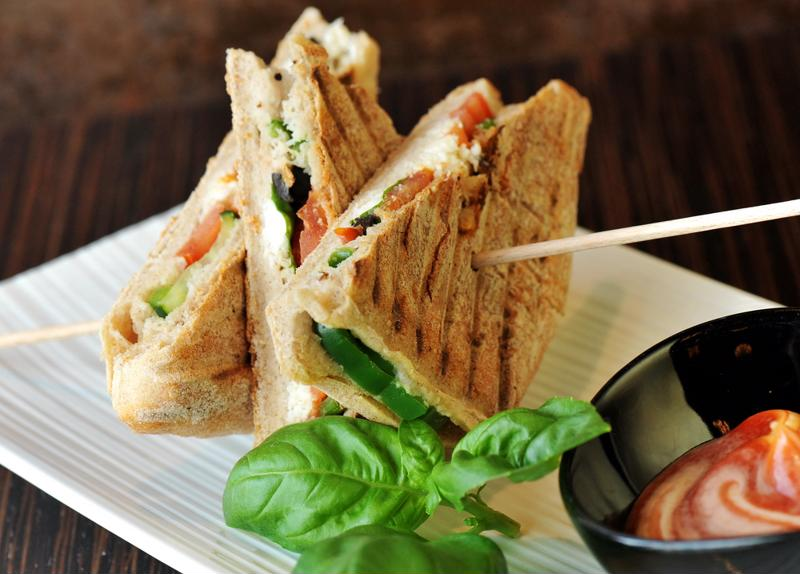 Do you love fresh springtime paninis?