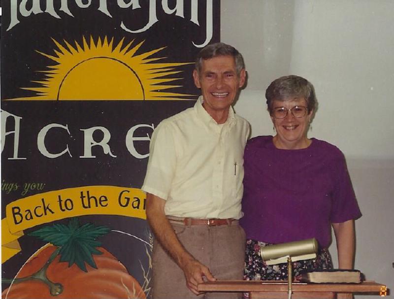 Rev. Malkmus and wife Rhonda in Rogersville.