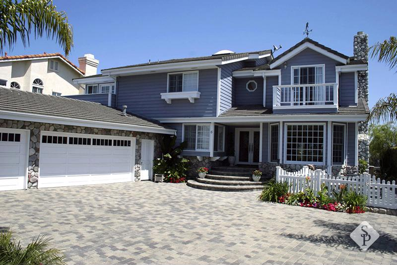 outdoor lighting, driveway, walkway pavers, front steps, entryway, curb appeal