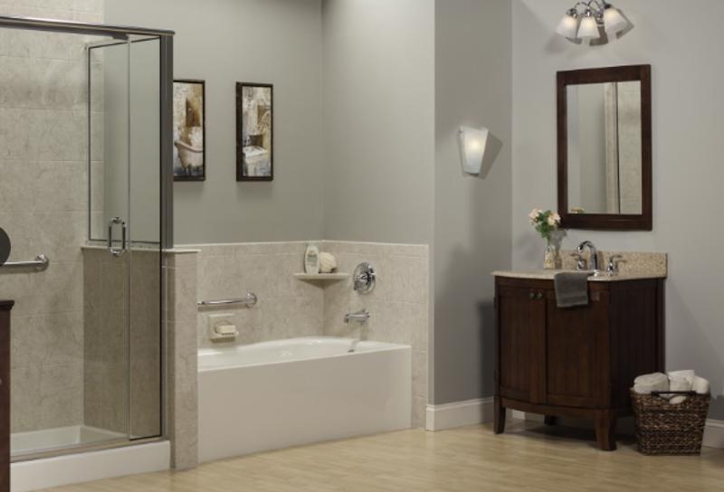 Enhance the look and function of your bath with a new wall liner.