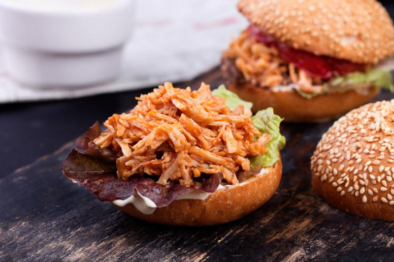 pulled chicken sloppy joes