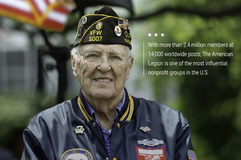 The American Legion has grown by leaps and bounds in its 98-year history.