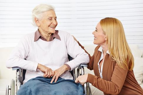 People with depression and dementia need support and encouragement through treatment.