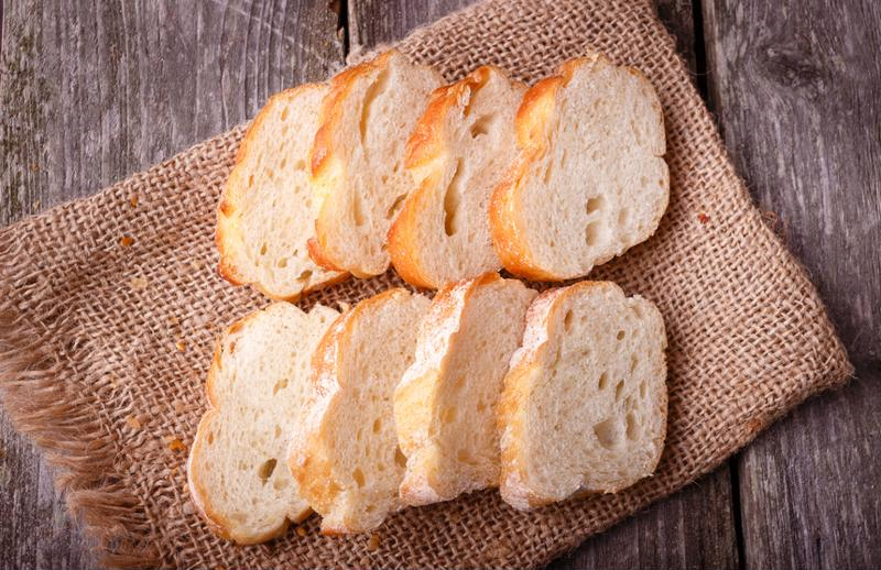Make bread last a little longer by freezing it.