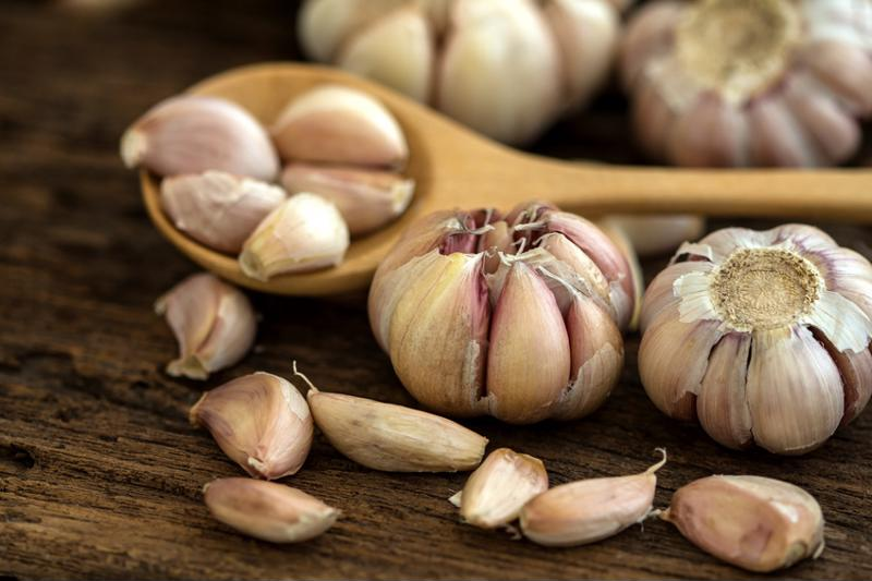 Garlic is easy to freeze.